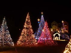 """Some of the lights on display at Canigiani Christmas Light Show, located at 2178 Weller Court Gilbertsville, PA 19525.  We do this for ONE reason and ONE reason only and that is to relay the true meaning and spirit of Christmas to our viewers.  """"Our show has drawn crowds from all over the country and we typically see approximately 80 - 150 cars every night from Dec. 15th through New Year's,"""" wrote  Adam C. Canigiani Sr."""