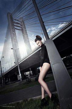 Gorgeous Fashion Model From Romania.