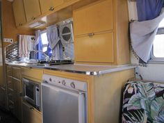 Interior of a 1960 Avion T20. Keep your Airstreams. The Avion has long been my fantasy RV!