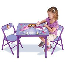 Disney Sofia the First Activity Table Set