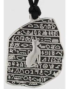 #pagan #wicca #witchcraft #celtic #druid #tarot Rosetta Stone Amulet $7.95