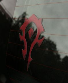 Horde World of Warcraft Faction Decal on Etsy, $9.00