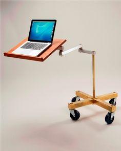 Cantilevered Laptop Desk