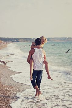romanc, engagement pictures, beach fun, engagement photos, at the beach, engagement pics, engagement shots, coupl, beach shoot