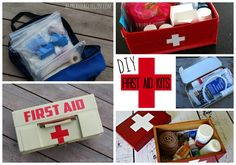 Diy first aid kits and what to put in them! - A girl and a glue gun