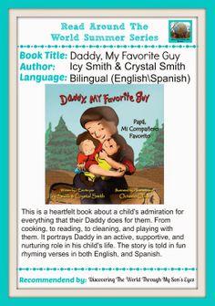 Daddy, My Favorite Guy/Papá, Mi Compañero Favorito {Read Around The World Summer Series}