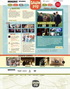 Na hardwerken hebben we vandaag de nieuwe look en feel gelanceerd van Dauwpop festival te samen met de eerste headliner van het programma. http://www.dauwpop.nl  made by www.catapult.nl