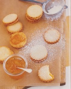 Lemon-Apricot Sandwiches - Martha Stewart Recipes