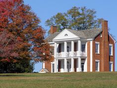 "Home of James Vann, built in 1804.  Vann was one of the wealthiest Cherokee in the early nineteenth century.  Vann was bannished from this home as a result of the Indian Removal Act but was ""compensated  $26,979.25"" for his losses. (Rich Indians, Alexandra Harmon)"