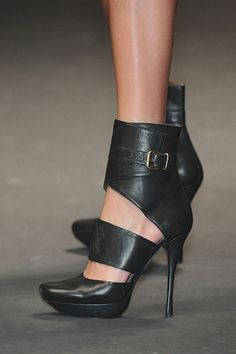 Lanvin Black High Heels