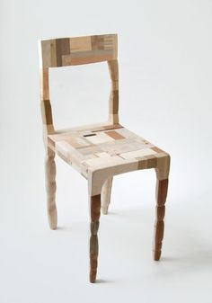 Recycled wood by Amy Hunting doors, dining rooms, interior design, wooden chairs, ami hunt, designet af, wood furniture, recycled wood, denmark