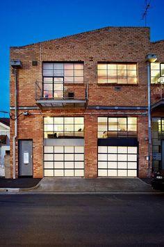 Brick Warehouse Conversion in Abbotsford, Melbourne