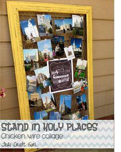 place chicken, wire frame, frames, jedi craft, chicken wire, girl camp, holi place, craft girl, crafts