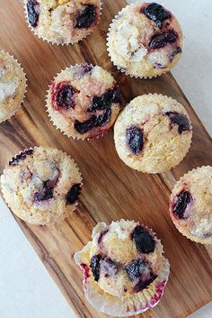 Sour cherry maple muffins