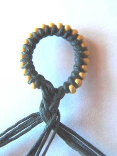loop bracelet, craft, tutorials, finish bead, jewelri tutori, bracelets, braid, art, bead loop