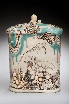 play clay, narrat art, narrative ceramics, kelli king, cultur potteri