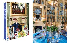 Valentino Interview - Valentino Entertaining Book - Town & Country Magazine