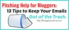Sample Review Pitch Letter - Blogging Mamas