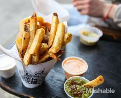 French fries from Pomme Frites.