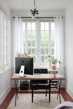 Perfect corner office.