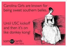 Southern belles until Gamecock football!