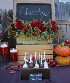 Chocolate and Wine Soiree Part III - Rustic Farm or Ranch Wedding Decor | Heavenly Blooms