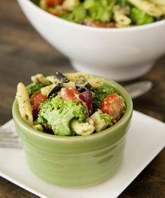 Pesto Broccoli Salad