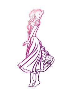 Rapunzel tattoo