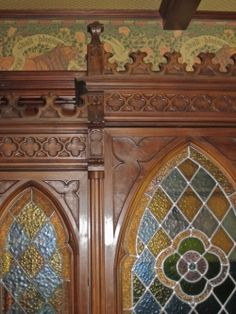 Victorian Gothic Revival Home Decor  Perhaps no style of Victorian Interior decorating is more romantic than Gothic Revival. Gothic revival home decor both celebrates and idealizes...