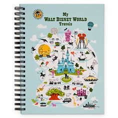 Disney World Travel Journal and Doodle Book - jot down those Disney memories and doodle those Disney thoughts before they disappear! #DisneyMemories