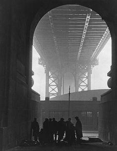 Cold Day on Cherry Street  photo by Robert Disraeli, 1932