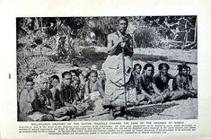 C1920 Salvador Native Tulafale Kanakas Samoa