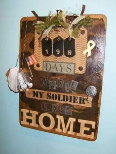 Military countdown calendar