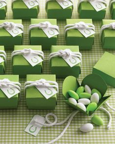 #green wedding favors #Green #Wedding ideas for #Same #Sex #Wedding… Wedding ideas for brides, grooms, parents & planners https://itunes.apple.com/us/app/the-gold-wedding-planner/id498112599?ls=1=8 … plus how to organise an entire wedding, within ANY budget ♥ The Gold Wedding Planner iPhone #App ♥ For more http://pinterest.com/groomsandbrides/boards/
