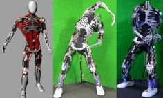 Japanese researchers continue quest to build life-like humanoid robots----to kill you