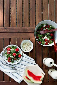 watermelon salad recipe // smitten studio