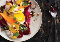 Shaved Root Vegetable Salad - Bon Appétit