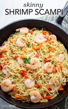 Say hello to your new favorite healthy pasta dish! Check out this skinny shrimp scampi recipe on our site today!