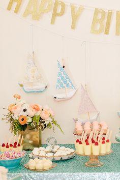 Sea-themed 1st Birthday Party | Love
