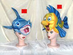 Gorro de goma espuma de tiburó n