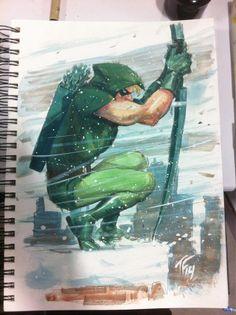 Green Arrow by Tom Fowler