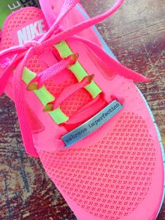 Inspirational Running Shoe Tags - Choose your saying on Etsy, $8.00