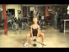 Bodylogix® - Wide Stance Dumbbell Squat