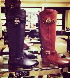 New fall 2013 Tory Burch Boots. Must have them! #ToryBurch