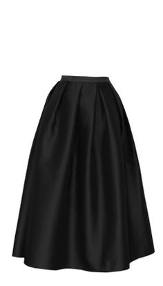 I have a pattern for a skirt like this. I will make it in a bunch of fabrics, but black silk or satin or dupioni is a must.