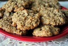 oatmeal banana peanut butter cookies