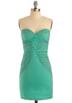 Have We Met? Dress in aqua from #ModCloth $84.99