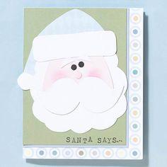 Santa Says Christmas Card