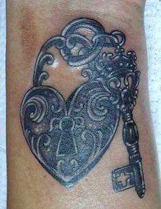 tattoo ideas, android, tablecloth, ruffl, keys, locks, tattoo patterns, tattoo ink, heart tattoos