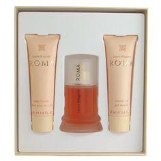 ROMA By Laura Biagiotti, Fragrance Set for Women (1.6 Oz Eau De Toilette Spray + 1.6 Oz Body Cream + 1.6 Oz Shower Gel) $63.00